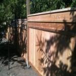 Cedar Fencing 1